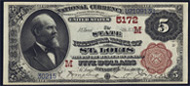 National Currency 1882 Brownback