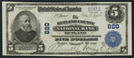 National Currency 1902 Blue Seal
