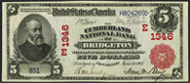 National Currency 1902 Red Seal
