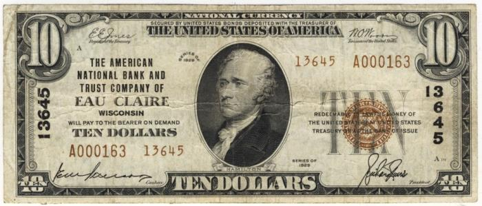 1929 10 Dollar Bill Value What Is It Worth
